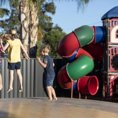 BIG4 Albury Jumping Pillow and Playground